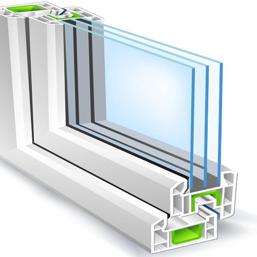 پنجره های دو آویز و طوفانی
